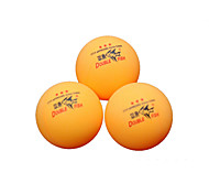 1 Piece 3 Stars Ping Pang/Table Tennis Ball White Orange Indoor Performance Practise Leisure Sports