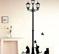 Животные Мода Отдых Наклейки Простые наклейки Декоративные наклейки на стены,Винил материал Украшение дома Наклейка на стену