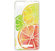 For Wiko Jerry Lenny2 Lenny3 Sunset2 Case Cover Orange Pattern High Penetration Painted TPU Material Phone Case