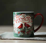 Vintage Drinkware, 450 ml Decoration Ceramic Juice Milk Coffee Mug