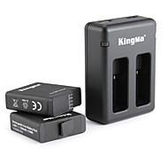 KingMa® Charger Batterie For GoPro Hero 5 Tauchen Fahhrad