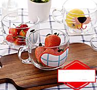 Novelty Drinkware, 450 ml Decoration Glass Milk Glass