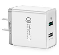 UGREEN®  USB Charger Qualcomm Quick Charge 3.0 30W Fast Mobile Phone Charger(Quick Charge 2.0 Compatible) for Samsung Huawei LG