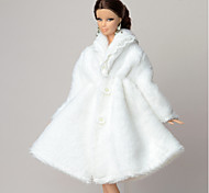 Casual More Accessories For Barbie Doll Coat For Girl's Doll Toy
