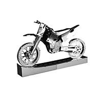 3D пазлы Металлические пазлы Для получения подарка Конструкторы Модели и конструкторы Мотоспорт Металл от 14 лет Розовый Игрушки