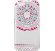 For WIKO LENNY3 Case Cover Pink Circle Painted Pattern TPU Material Phone Case