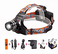 U'king ZQ-G70000Black#-UK CREE T6 LED 2000LM 3Mode Adjustable Focus Headlamp Bike Light Kit for Camping/Hiking/Caving Everyday Use Cycling