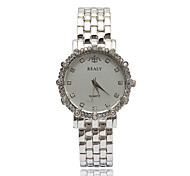 Bracelet Watch Simulated Diamond Watch Quartz Alloy Band Silver Gold Rose Gold