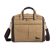 Unisex Canvas Sports Casual Outdoor Office & Career Professioanl Use Laptop Bag