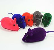 Cat Toy Dog Toy Pet Toys Chew Toy Interactive Squeaking Toy Squeak / Squeaking Mouse Rubber