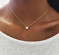 Женский Ожерелья с подвесками Бижутерия В форме звезды Сплав Уникальный дизайн В виде подвески Multi-Wear способы бижутерия Бижутерия