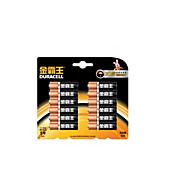 duracell 1.5v piles alcalines AA pour le moniteur de pression artérielle / lecteur de glycémie / jouet électrique 12 paquets