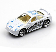 Race Car Toys Car Toys 1:64 Metal Plastic White Model & Building Toy