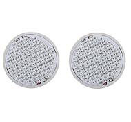 6W E27 Luces LED para Crecimiento Vegetal 106 SMD 3528 2500-3000 lm Rojo Azul V 2 piezas