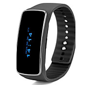 Bluetooth V4.0 SmartBand Intelligent Bracelet Watch Call Message Reminder Pedometer Alarm Clock Smartband Smart Watch OLED