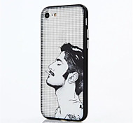For Apple iPhone 7 Plus iPhone 7 iPhone 6s Plus iPhone 6 Plus iPhone 6s iPhone 6 Case Cover The Man PC Back Shell TPU Frame