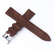 Men's/Women'sWatch Bands Genuine leather 20mm Watch Accessories