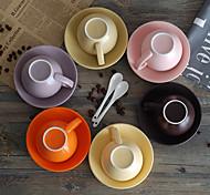 Colored Drinkware, 300 ml Decoration Ceramic Milk Water Coffee Mug