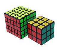 Shengshou® Cubo Macio de Velocidade 3*3*3 5*5*5 Velocidade Nível Profissional Cubos Mágicos Preta Branco Etiqueta lisaAnti-Abertura Mola