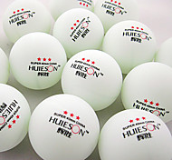 100pcs 3 Stars 4 Ping Pang/Table Tennis Ball White Indoor Performance Practise Leisure Sports