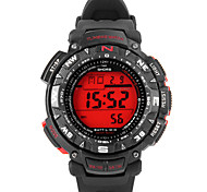 JUBAOLI Sport Watch Digital Watch Quartz Digital Rubber Band Black