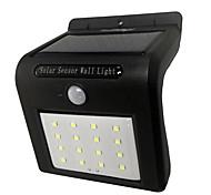 youoklight 1шт 1.5W 16 водить холодный белый открытый солнечный приведенный в действие свет PIR датчик движения лампы