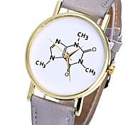 Ladies Watch Chemical formula clock geometry Men's watch digital geneva watch Baby quartz leather relogio masculino relojes mujer montre