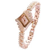 Women's Fashion Watch Bracelet Watch Quartz Alloy Band Charm Pink