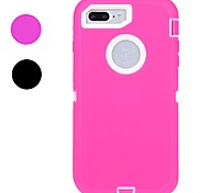 SZKINSTON 3-in-1 Silicone Robot Full Body Case for Apple iPhone 7 Plus iPhone 7 iPhone 6s/6 Plus iPhone 6s/6 iPhone SE/5S/5/5C/4S/4