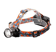 U'King® ZQ-X830B CREE XML-T6 LED 2000LM Zoomable 180 Rotate 3Modes Headlamp Bike Light with Rear Safety LED