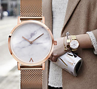 Fashion Ladies Watch Minimalist Style Clock Women Dress Stainless Steel Strap Watches Simple Marble Watch Bgg Woman Quartz Watch Wrist watches