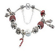 Bracelet Chain Bracelet Alloy Others Natural Gift Jewelry Gift Silver,1pc