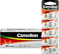Camelion AG3 Coin Button Cell Alkaline Battery 1.5V 100 Pack