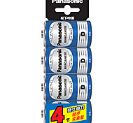 Panasonic  R20NU/4SC D Dry Cell Battery 1.5V 4 Pack