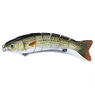 2 pçs Vairão Vairão Preto Branco 0.021 g Onça mm polegada,Plástico Pesca Geral