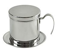 filtro de café de aço inoxidável, 1 xícara de bebida reutilizáveis máquina de café