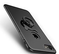 Назначение iPhone 8 iPhone 8 Plus Чехлы панели со стендом Кольца-держатели Задняя крышка Кейс для Сплошной цвет Твердый PC для Apple