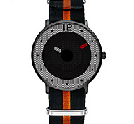 SINOBI Fashion Watch Water Resistant / Water Proof Shock Resistant Quartz Fabric Band Casual Luxury Black