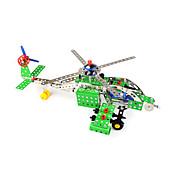 Avión y helicóptero Juguetes 1:12 Metal Plástico Verde