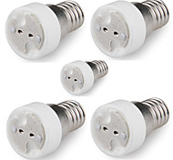 E14 to MR16 (Male Plug) Socket Adapter Converter Base Holder for Light Lamp (5 Pieces)