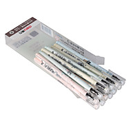 Gel Pens Black Ink 0.35MM 1 Set of 12 PCS