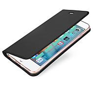 Назначение iPhone X iPhone 8 Чехлы панели Бумажник для карт Флип Магнитный Чехол Кейс для Сплошной цвет Твердый Искусственная кожа для