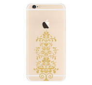 For Transparent Pattern Case Back Cover Case Mandala Soft TPU for Apple iPhone 7 Plus iPhone 7 iPhone 6s Plus 6 Plus iPhone 6s 6 iPhone 5 iphone 4