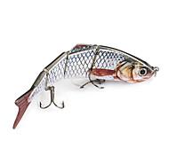 2 pçs Vairão Vairão Branco 0.0165 g Onça mm polegada,Plástico Pesca Geral