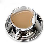 Minimalismo Artigos para Bebida, 60 ml Decoração Dom namorado Aço Inoxidável chá Leite Canecas de Café