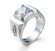 Ringe Alltag Schmuck Stahl Ring 1 Stück,7 8 9 10 11 12 Weiß