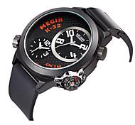 Мужской Спортивные часы Кварцевый силиконовый Группа Черный марка
