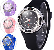 Unisex Sport Watch Dress Watch Digital Watch Digital Rubber Band Cool Black Blue Pink Purple