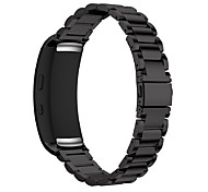 For Samsung Gear Fit 2 SM-R360 Smart Watch Stainless Steel Watch Band Strap Bracelet and Connector