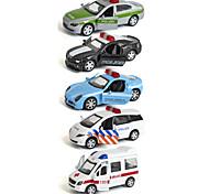 Police car Ambulance Vehicle Vehicle Playsets Car Toys 1:64 Metal Plastic Rainbow Model & Building Toy